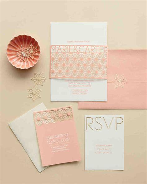 how to make wedding invitations martha stewart 74 modern wedding invitations martha stewart weddings