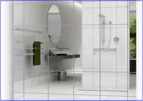 mirrored bathroom wall tiles mirror wall tiles 12x12