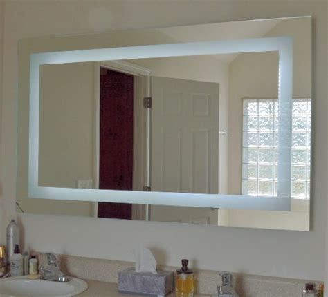 60 inch wide bathroom mirror lighted vanity mirror led mam86036 commercial grade 60