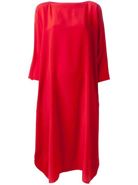 Boxy Dress lyst daniela gregis boxy jersey dress in