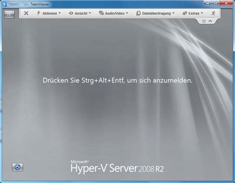 hyper v console windows 7 windows hyper v server 2008 r2 und teamviewer andys