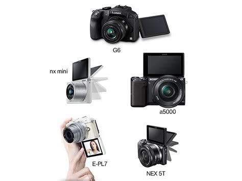 canon dslr flip screen 5 mirrorless cameras with an articulating or flip up screen