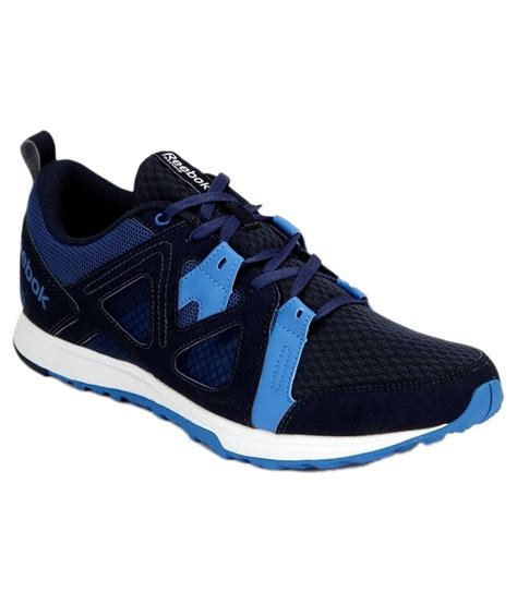 Reebok Running Abu No 42 reebok blue and black running sports shoes price in india
