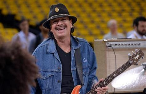 Carlos Santana Takes A Spin On The by Guitar Legend To Perform Anthem For Warriors Cavs 2