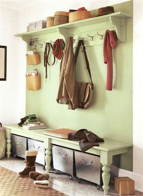 ideas  transforming  entryway storage decor