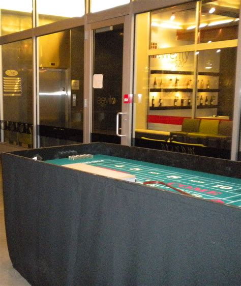 casino table rentals craps table with skirting carnivals for at