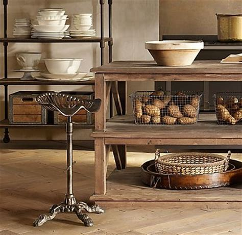 restoration hardware kitchen island for the home