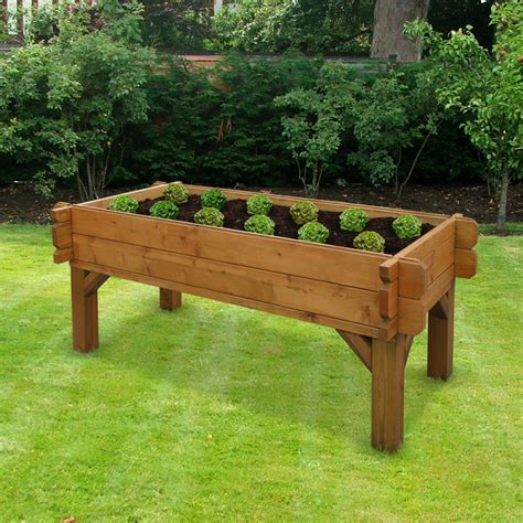 Raised Garden Table by Modern Edibles Raised Garden Bed Designs Sunset See All