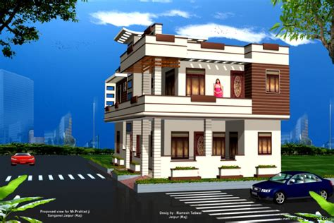 exterior house plan view home designs this wallpapers