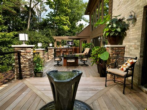 houzz backyard patio outdoor entertaining quick garden makeover tips to wow