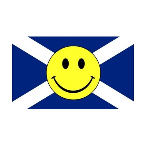 smiley rubber st scotland st smiley flag