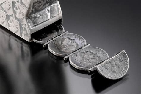 how to make jewelry out of coins coin sculptures