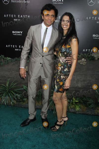 Pictures From Domestic Premiere of ''After Earth''at ... M Night Shyamalan Family