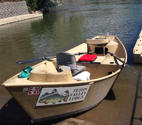 osprey drift boat about the teton valley lodge