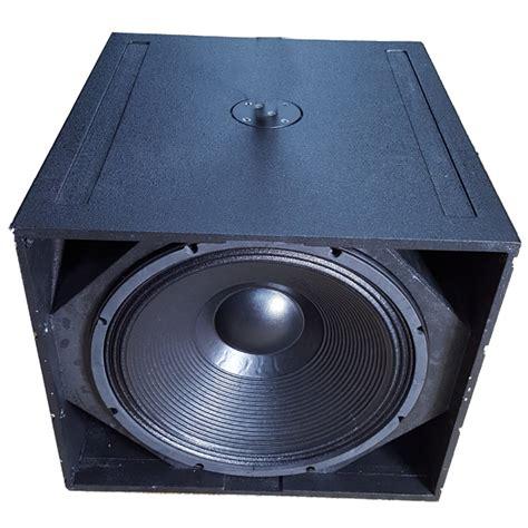 Subwoofer Cabinet Design by Q Sub Single 18 Quot Pro Audio Pa Subwoofer Box Design Buy Q
