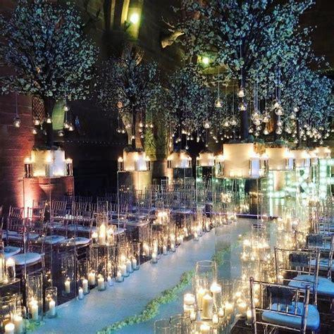 winter wonderland themed wedding peckforton castle