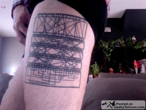 enigma machine tattoo neatorama