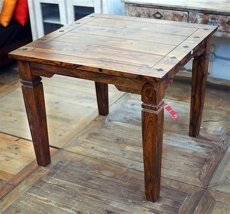 tavoli etnici tavolo indiano etnico allungabile in legno massello di noce
