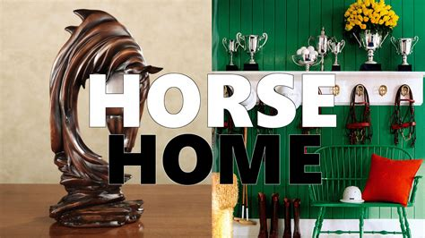 horse themed home decor horse home d 233 cor for equestrian style theme