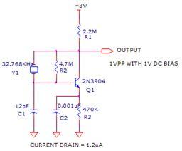 Oscilator 32768 Khz 32k running avr freaks