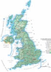 Detailed Map Of England by Road Map Uk