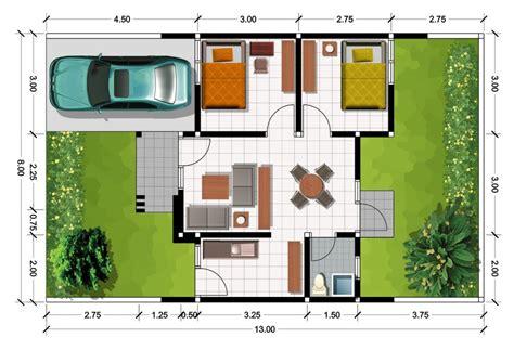 desain lengkap model rumah minimalis type 45 terbaru
