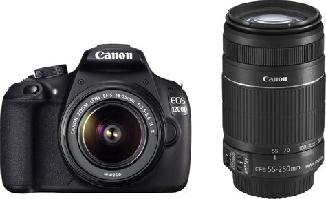 Canon 1200d Kit 1 Canon Eos 1200d Dslr With 8 Gb Card Bag Ef S18 55 Is Ii 55 250mm Is Ii Price In