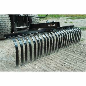 Landscape Rake Attachment For Mower Craftsman Garden Tractor Sleeve Hitch Tractor Attachments