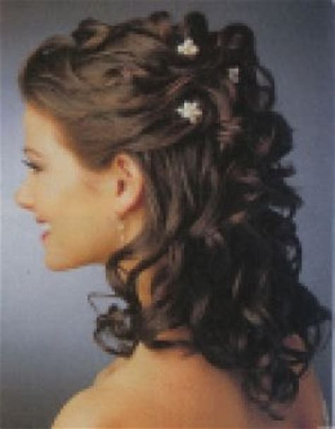 upstyles for long hair curly upstyles for long hair with flower jpg 391 215 500
