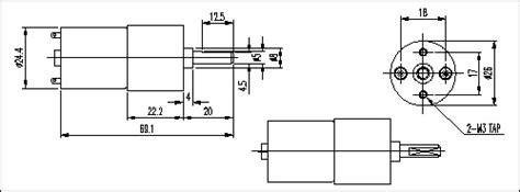 Ggm Dc Motor 25 W K8dg25n2 Dc Geared Motor Ggm