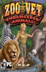 zoo vet  endangered animals game  uclickgames