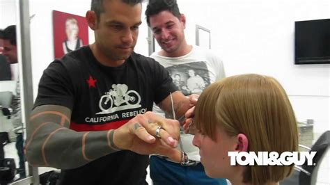 toni guy youtube behind the hair toni guy here and now collection youtube