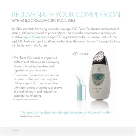 10 Tips For Using The Nu Skin Galvanic Spa by Ageloc Galvanic Spa