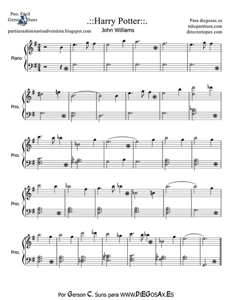 theme songs by john williams harry potter sheet music for easy piano by john williams