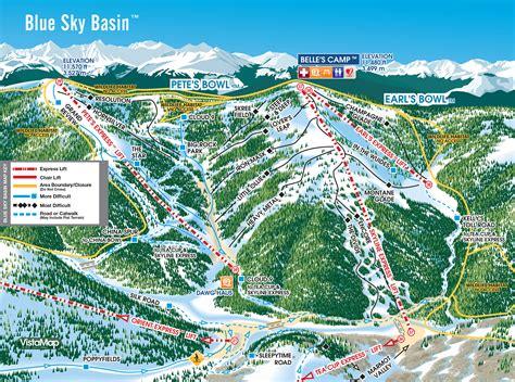 usa ski resort map ski holidays at vail mountain colorado ski usa ed