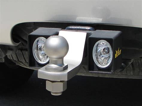 mount trailer hitch light by bully