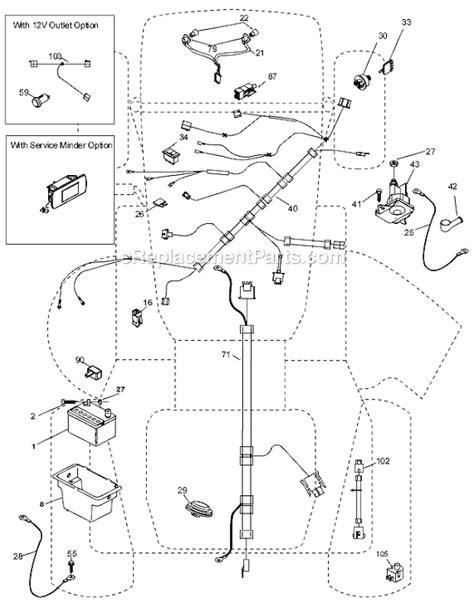 husqvarna lawn tractor parts diagram husqvarna mower wiring diagram wiring diagram
