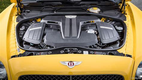 bentley v8 engine 2016 bentley continental gt v8 s monaco yellow engine