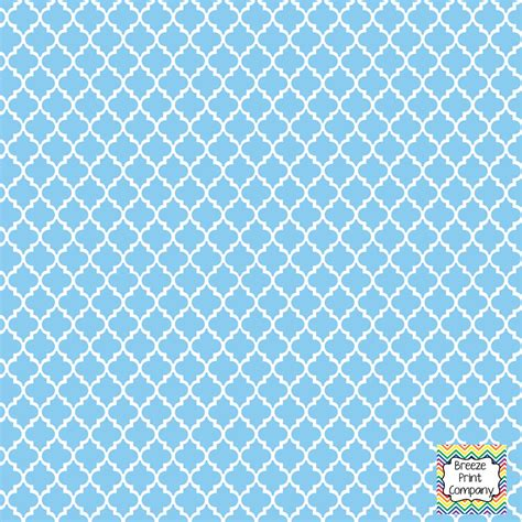 vinyl quatrefoil pattern light blue quatrefoil pattern vinyl sheet by