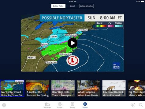 best weather forecast the weather channel app for best local forecast