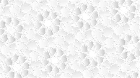 modele blanc fond islamique geometrique comme arriere plan