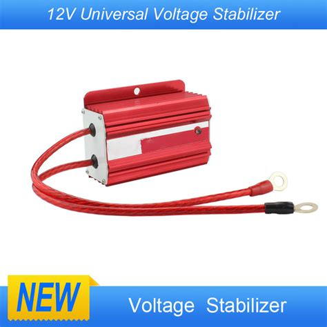 Jsonejs One Big Volt Stabilizer new universal racing car 12v voltage stabilizer ballast fuel saver volt regulators yc100746