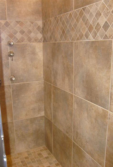 tile for bathroom shower tile shower tile pattern nothing but bathrooms pinterest