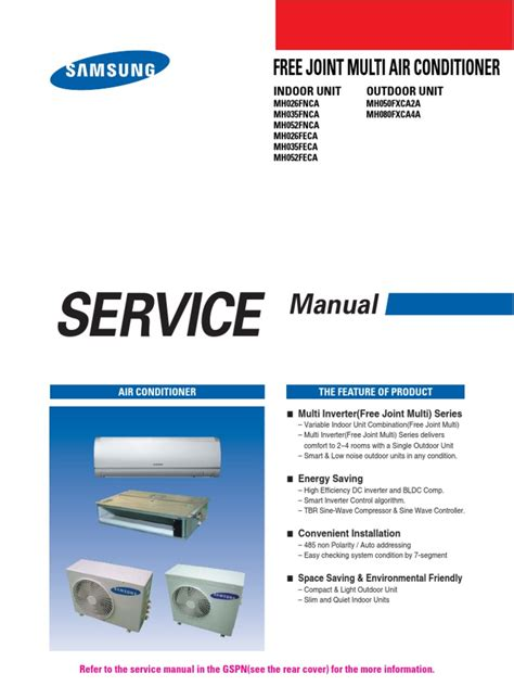 Hp Samsung S3 Ac samsung mh080fxca4a service manual air conditioning power inverter