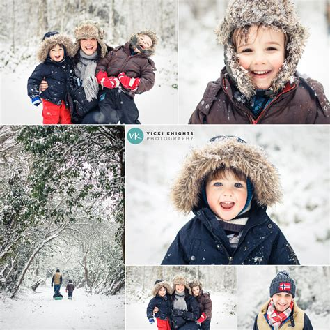 family   snow photography  busy parents