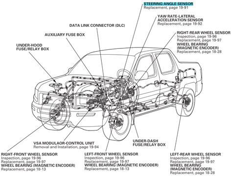 Sensor Pedal Vsa Honda Odyssey Rb1 2 3 Thn 2004 2013 sensor that detects steering angle honda ridgeline