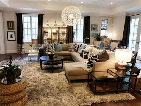 hgtv family room designs transitional living space photos hgtv