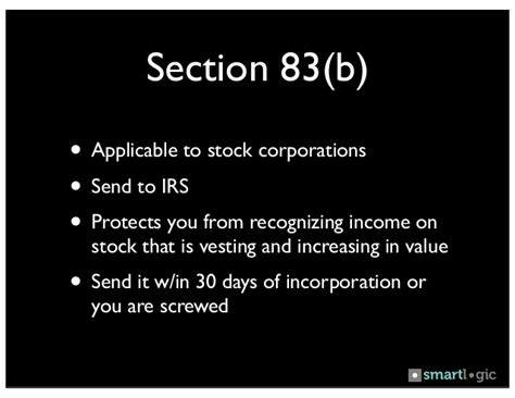 section 83 irc irs section 83b 28 images irs simplifies section 83 b