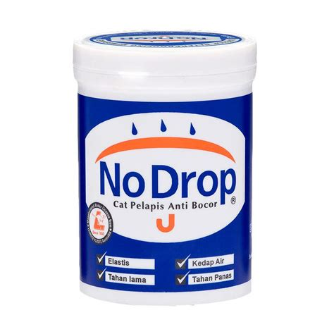 Cat Pelapis No Drop Jual No Drop 018 Cat Pelapis Anti Bocor Apricot 1 Kg