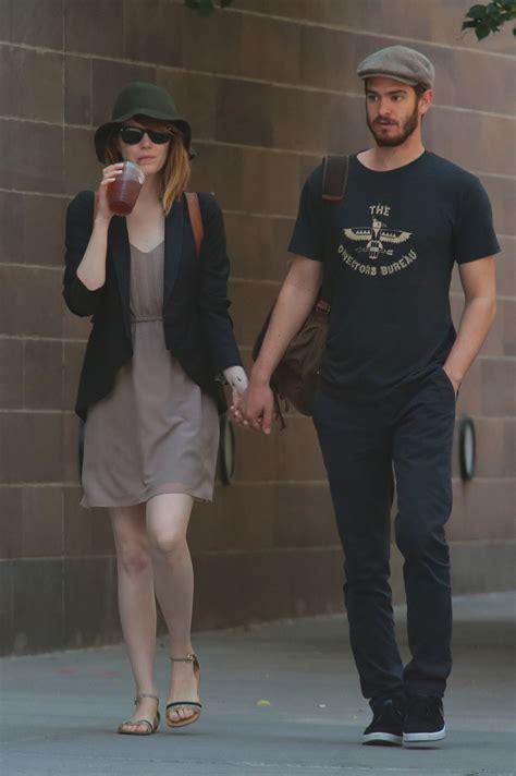 emma stone boyfriend list emma stone with boyfriend out in new york city june 2014